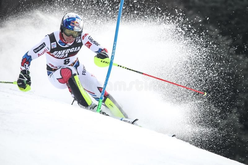 Snow Queen Trophy 2019 Mens Slalom Stock Photo Ad Trophy Snow Queen Stock Photo Ad Snow Queen Alpine Skiing Men