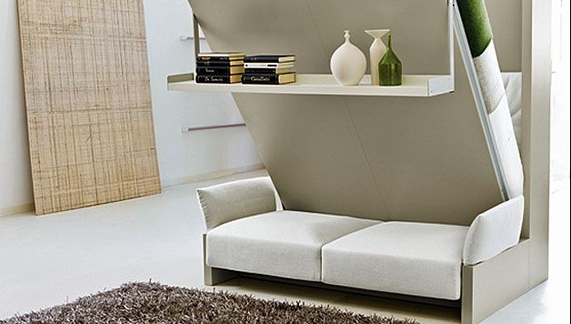 Murphy Wall Bed Couch Combo With A Sofa In Front Resource Furniture Modern Murphy Beds Murphy Bed Ikea
