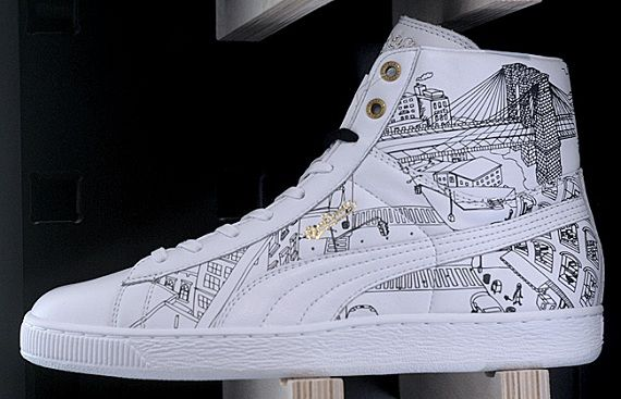 "Sophia Chang x Puma Basket Mid ""Brooklynite"" 