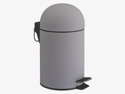 Lima Greys Plastic Grey Soft Touch Bathroom Bin Habitatuk Bathroom Bin Bathroom Accessories Bathroom