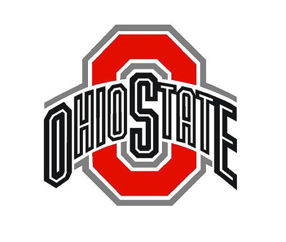 Ohio State Football Decal Car decal Vinyl Decal NCAA College ...