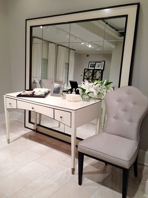 With A Dressing Table On The Second Floor Entrance