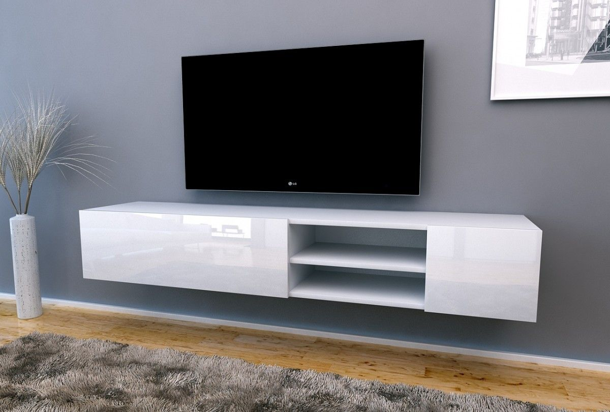 Design Hoogglans Tv Meubel.Nasmaak Tv Meubel Galicia Special Geheel Hoogglans Wit 180