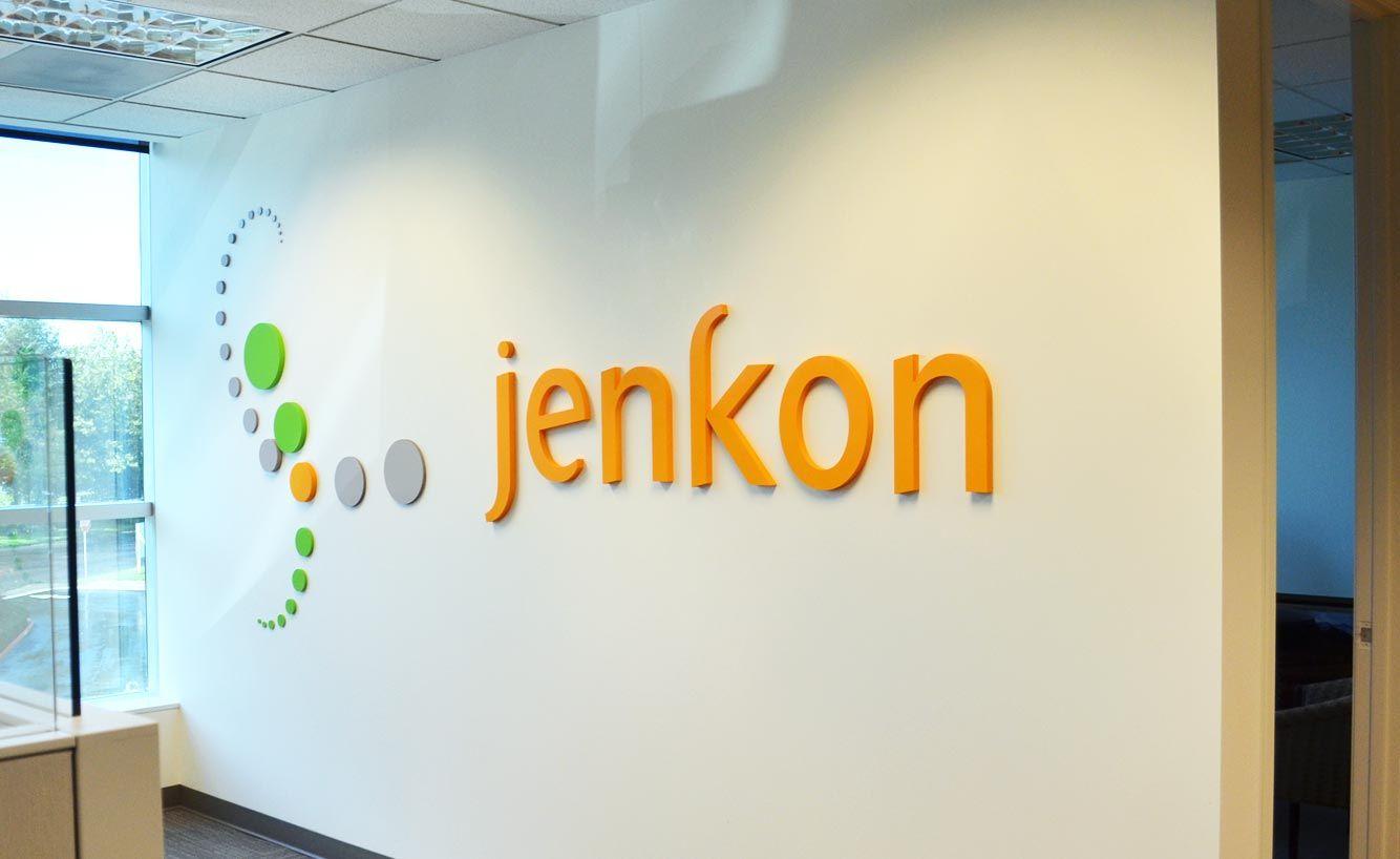 Dimensional Letters Amp Logo For Jenkon S Office