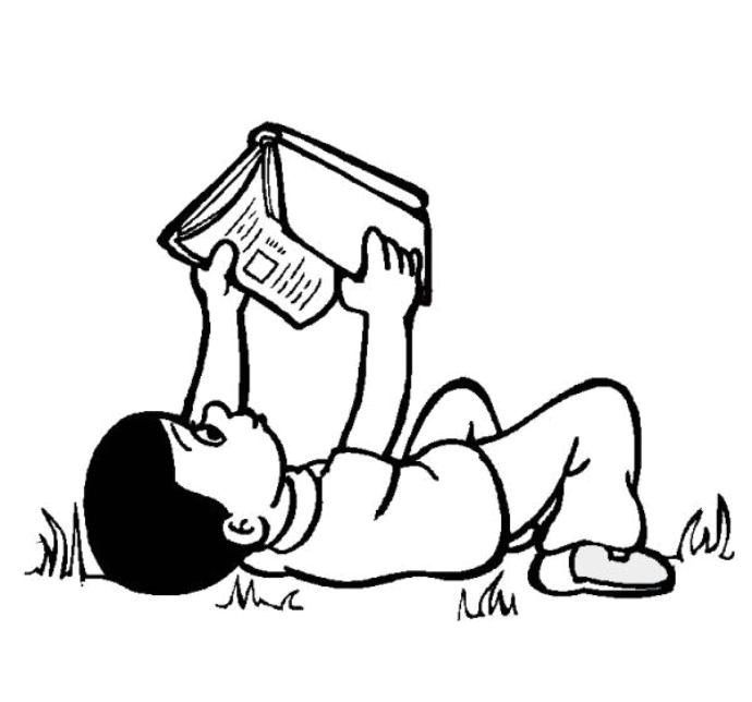 Dunya Cocuk Kitap Gunu Boyama Sayfalari Kitap Haftasi Kitap Boyama Sayfalari