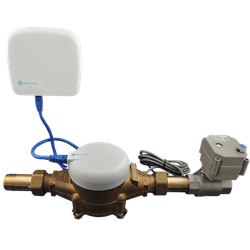 Water Hero Wifi Flow Monitor Shut Off System P100 Water Monitor Home Flood Prevention Water Usage