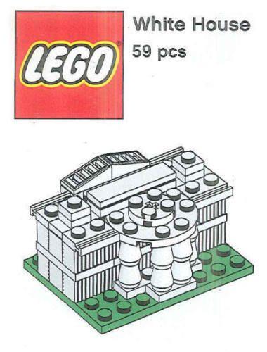 Lego Washington Monument Mini Build Parts Instructions Build