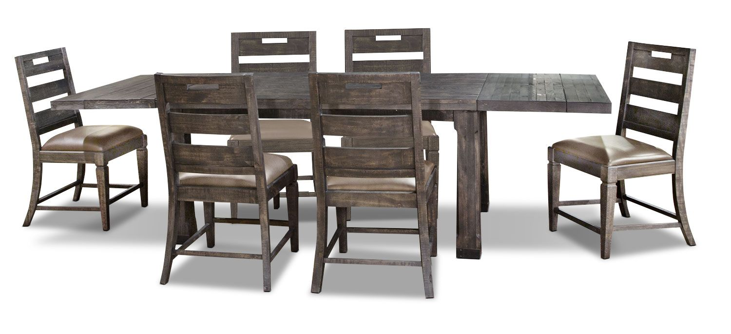 Calistoga 7 Piece Dining Package Dining Table Setting Dining Outdoor Furniture Sets