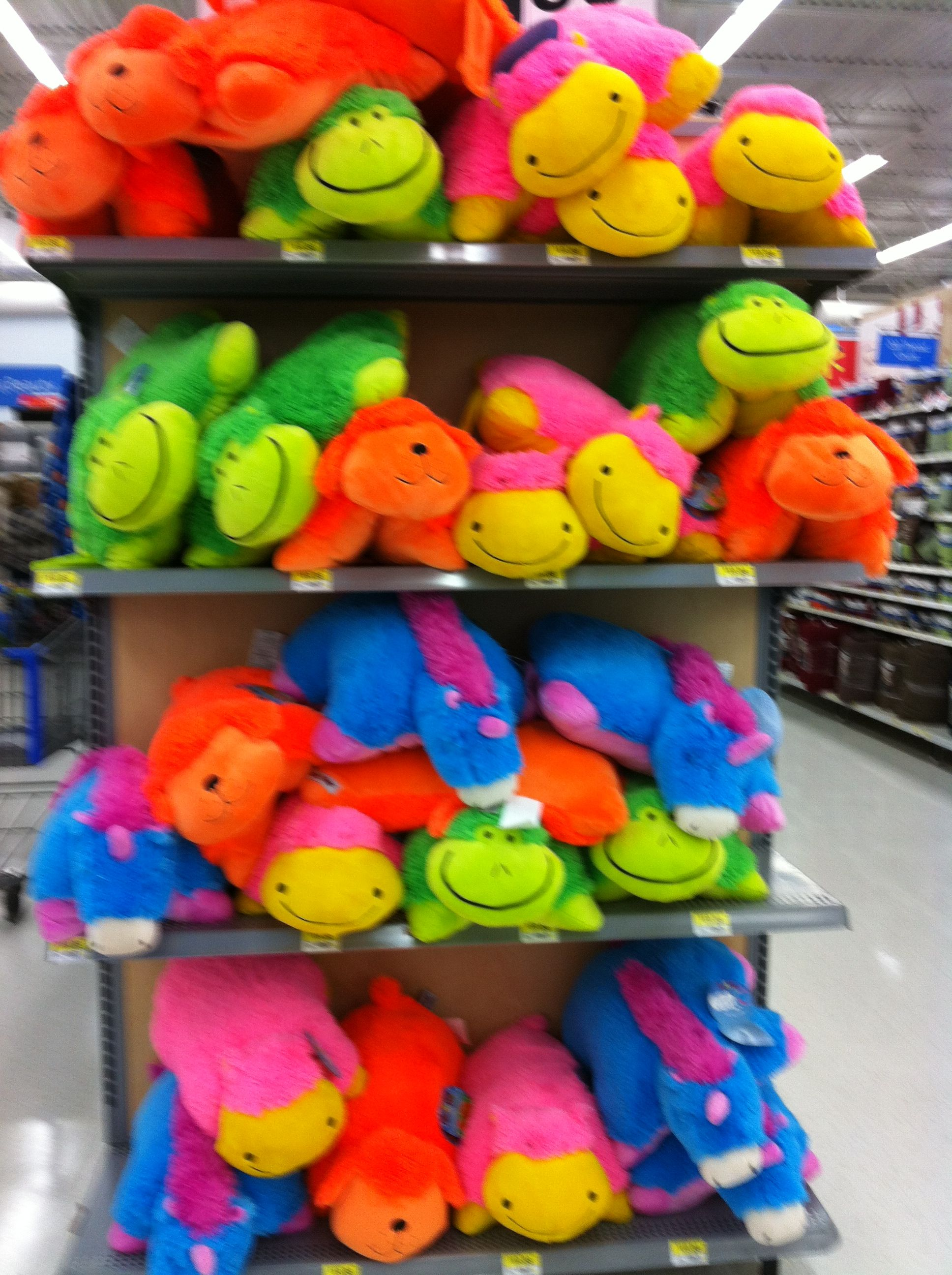 It S Not Just A Pillow Pet It S A Neon Pillow Pet Awesome Animal Pillows Neon Pets