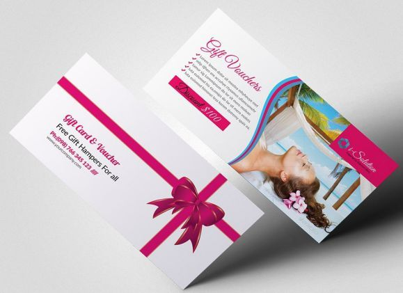SPA Gift Certificate Template With Discount SPA Gift Certificate - cute gift certificate template