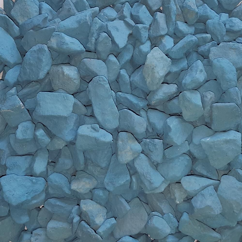 Butler Arts 3 4 In Lagoon Blue Landscaping Gravel 2200 Lb Super Sack G Lb 3 4 P2200 The Home Depot Blue Lagoon Decorative Gravel Landscaping With Rocks