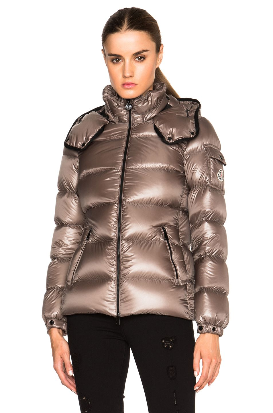 Moncler Berre Jacket in Light Grey | FWRD