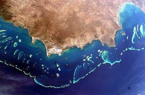 Australia Great-barrer-from-space