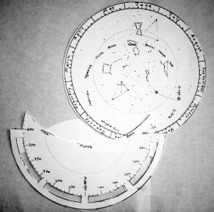graphic relating to Printable Planisphere identified as Printable Double-Sided Planispheres Strategies for the