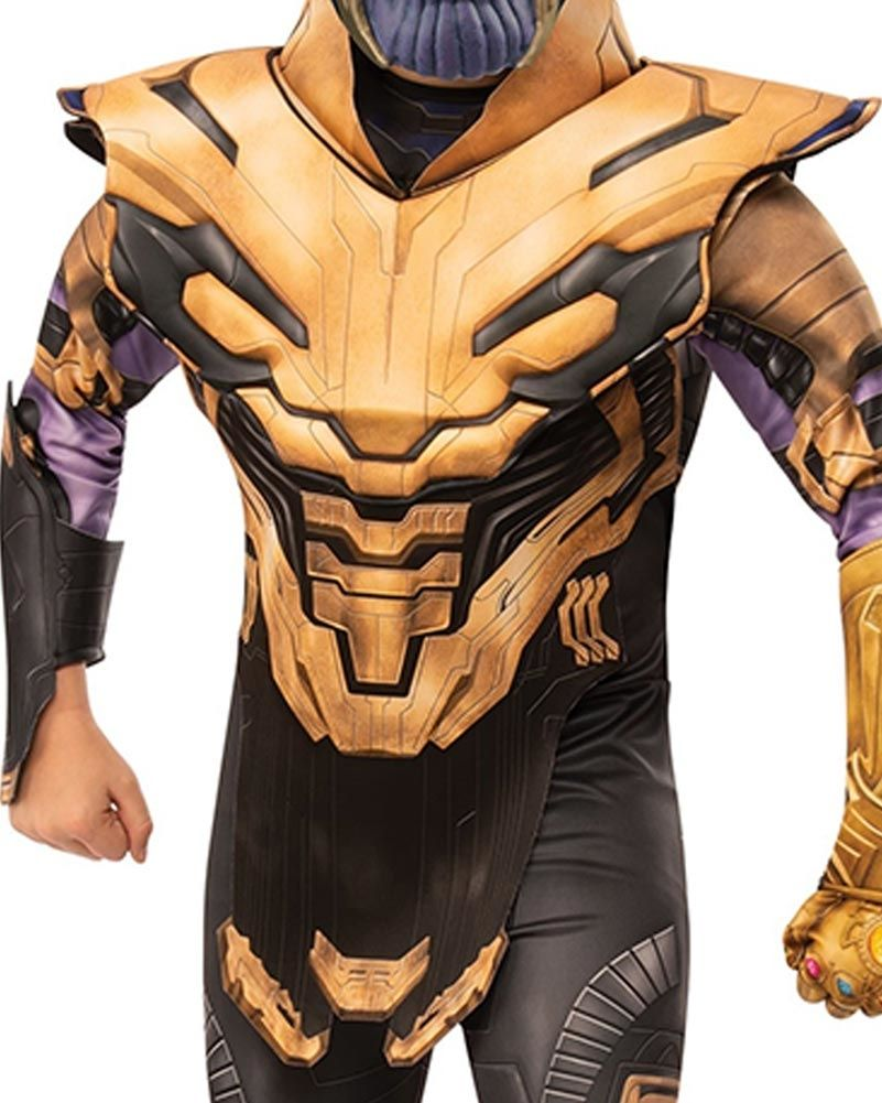 Avengers 4 Endgame Thanos Men Halloween Party Cosplay Costume Set Fancy Dress
