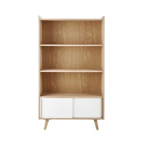 2-türiges Bücherregal خشبيات ورخام Pinterest Wooden bookcase