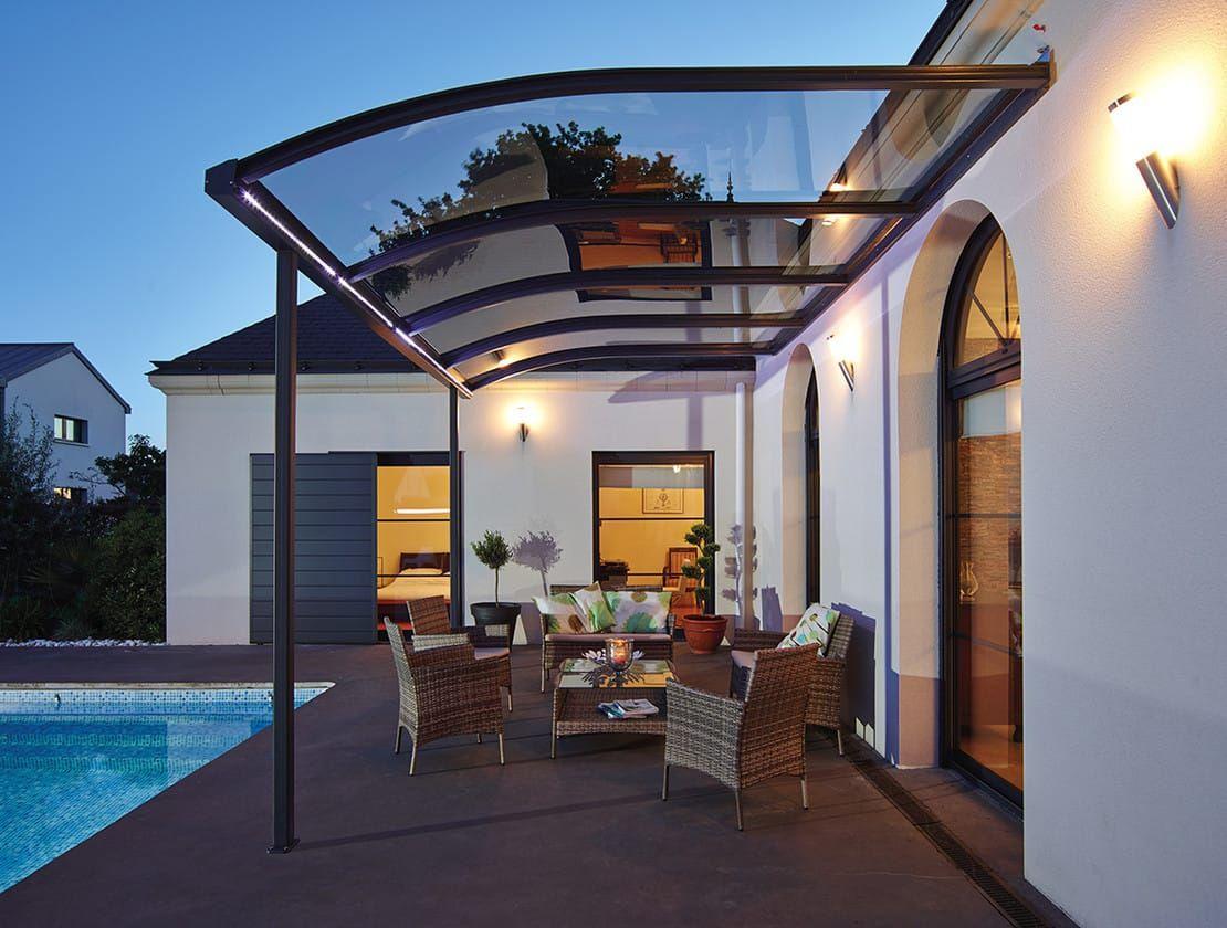 Abris De Terrasse Avec Option éclairage Led Ma Maison De