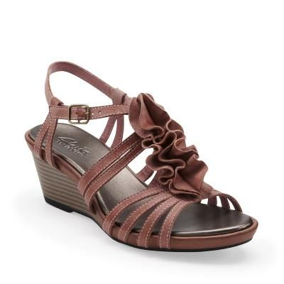 39f9f75f5473c Clarks Lucia Resort in rose leather