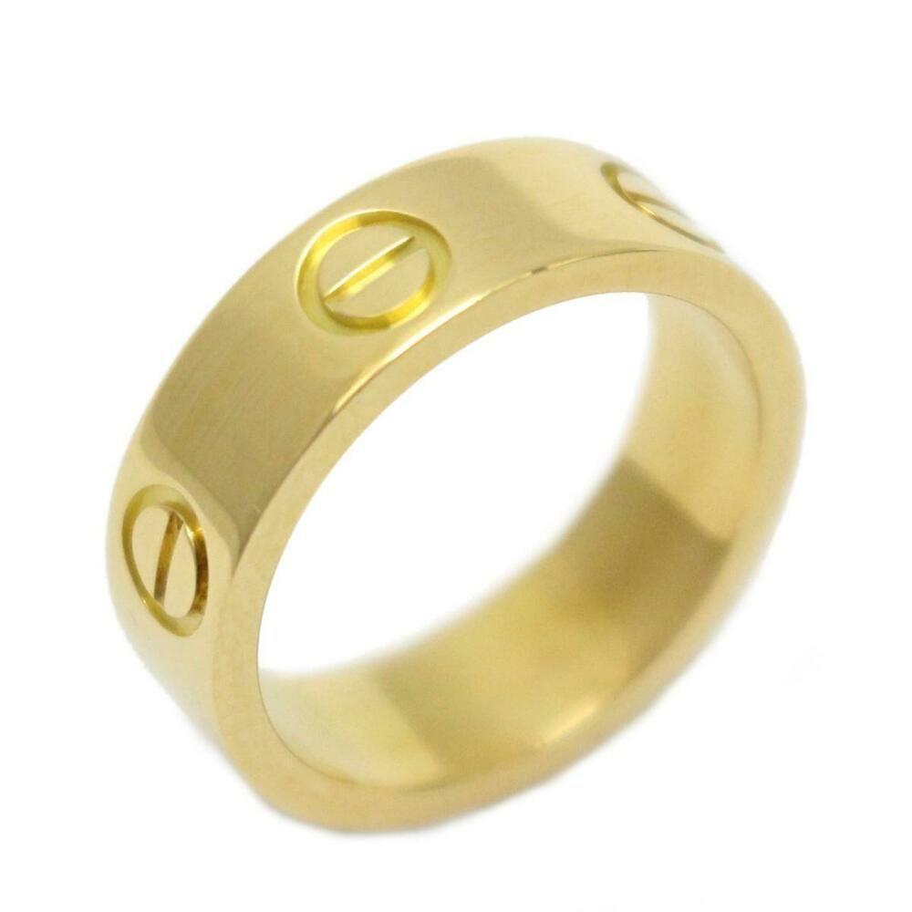 943a4a89bccb5 eBay #Sponsored Cartier Love ring 18K YG(750) Yellow gold | Fashion ...