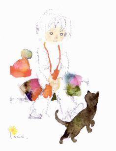 Chihiro Iwasaki イラスト イラストアート 水彩 人物