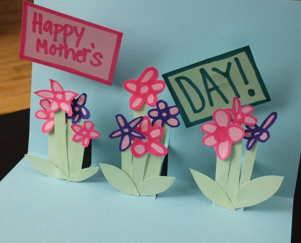 Art And Craft Ideas For Making Greeting Cards Part - 47: NEWEST DIY MOTHERS DAY CARDS | Arts And Crafts: 3 Easy (and Kid-