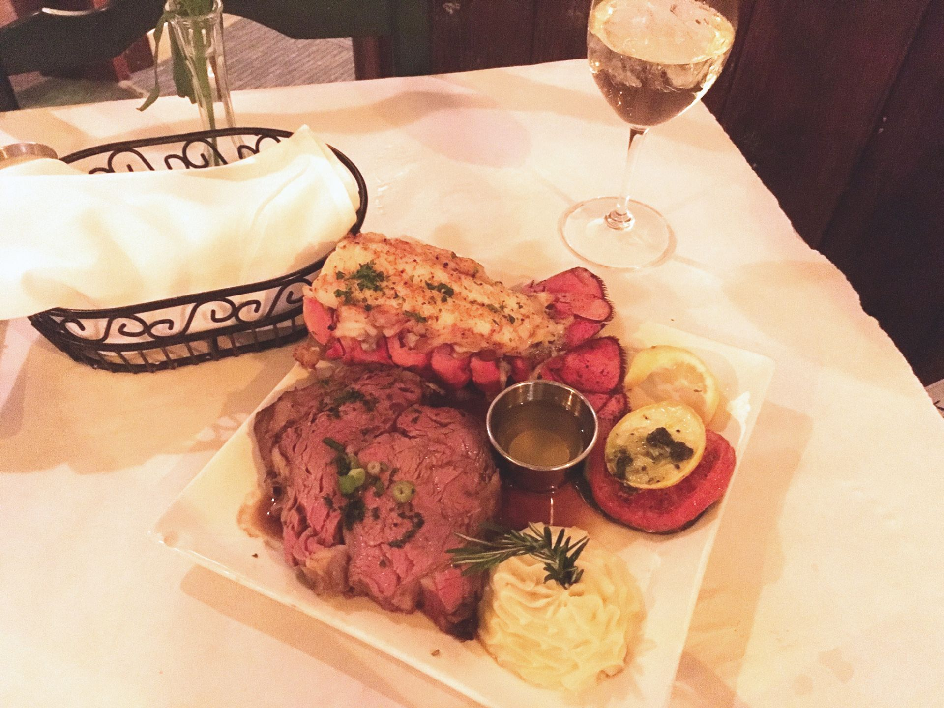 Recommendation The Parson S Table App Local Fried Green Tomatoes With Goat Cheese Dinner Slow Roasted P Slow Roasted Prime Rib Prime Rib Of Beef Au Jus