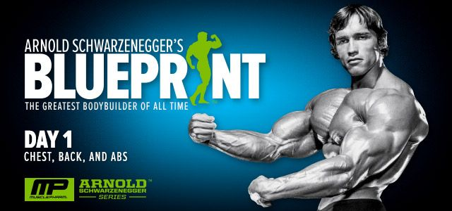 Arnold schwarzenegger blueprint trainer day 1 arnold arnold schwarzeneggers blueprint bodybuilding plan great plan awesome supersets you definitely will feel malvernweather Choice Image
