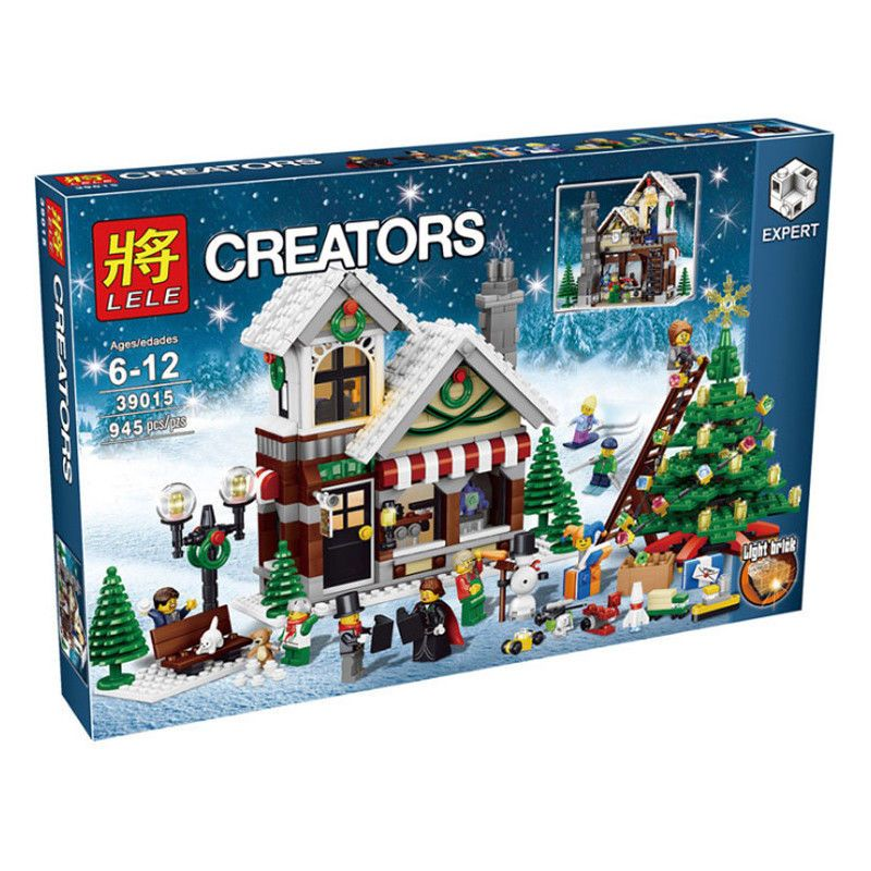 New LEGO Creator Winter Toy Shop 10249 Holiday Christmas