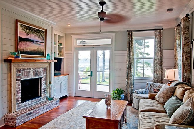 lovely living rooms beadboard | farmhouse living room by The Middleton Group Love the ...