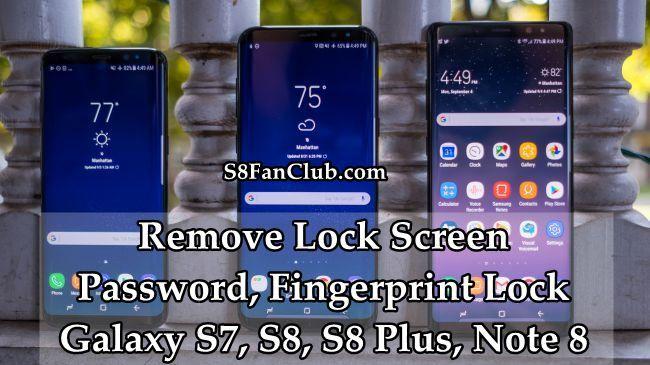 samsung galaxy s7 edge forgot password