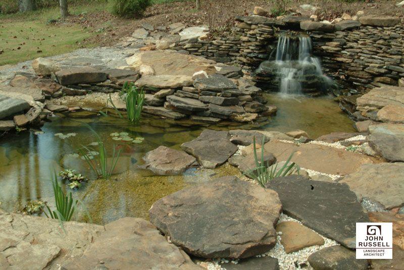 Landscaping Water Feature In Birmingham Al Landscaping Water Feature Landscape Architect Landscape Design