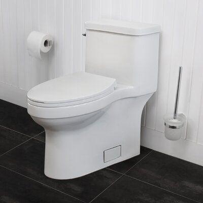 Superb Maykke Hamar 1 27 Gpf Water Efficient Elongated One Piece Ibusinesslaw Wood Chair Design Ideas Ibusinesslaworg