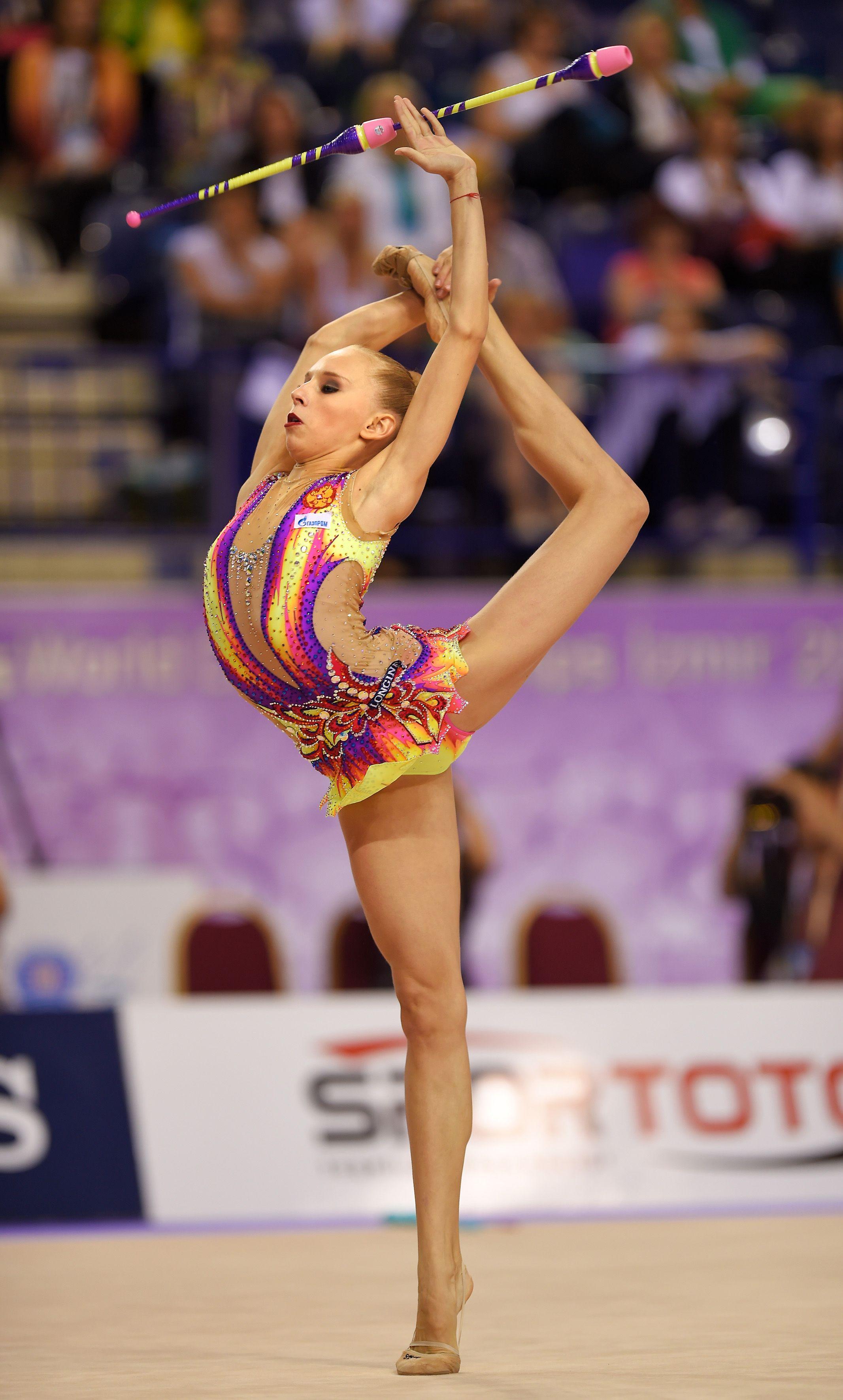 Daria Dmitrieva: gymnast, mom and just a beautiful woman