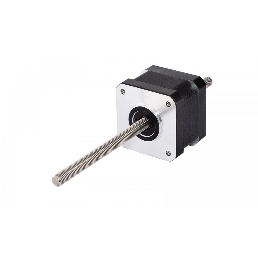 Nema 17 Non Captive 34mm Stack 0 4a Lead 2mm 0 07874 Length 150mm Stepper Motor Linear Actuator Lead