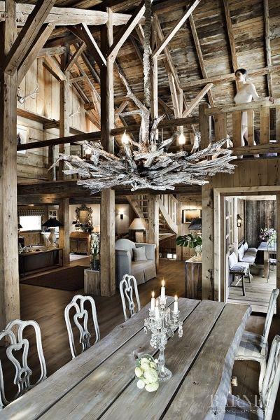 Rental La Ferme SHATOOSH 12 people - 6 bedrooms in Megève - Real estate agency Megeve Barnes
