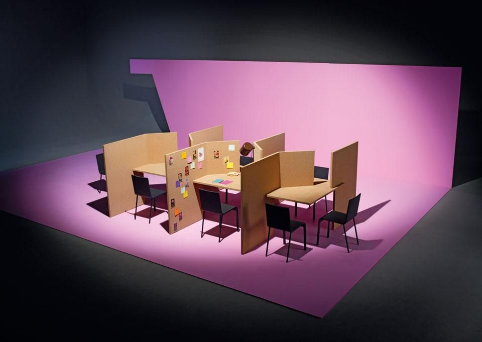 citizen office concept. new concept cork table prototype by vitra with ronan u0026 erwan bouroullec citizen office t