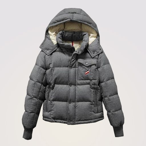 bcf1c4653 Moncler Cezanne Down Jacket Grey - minus the hood. Love this coat ...