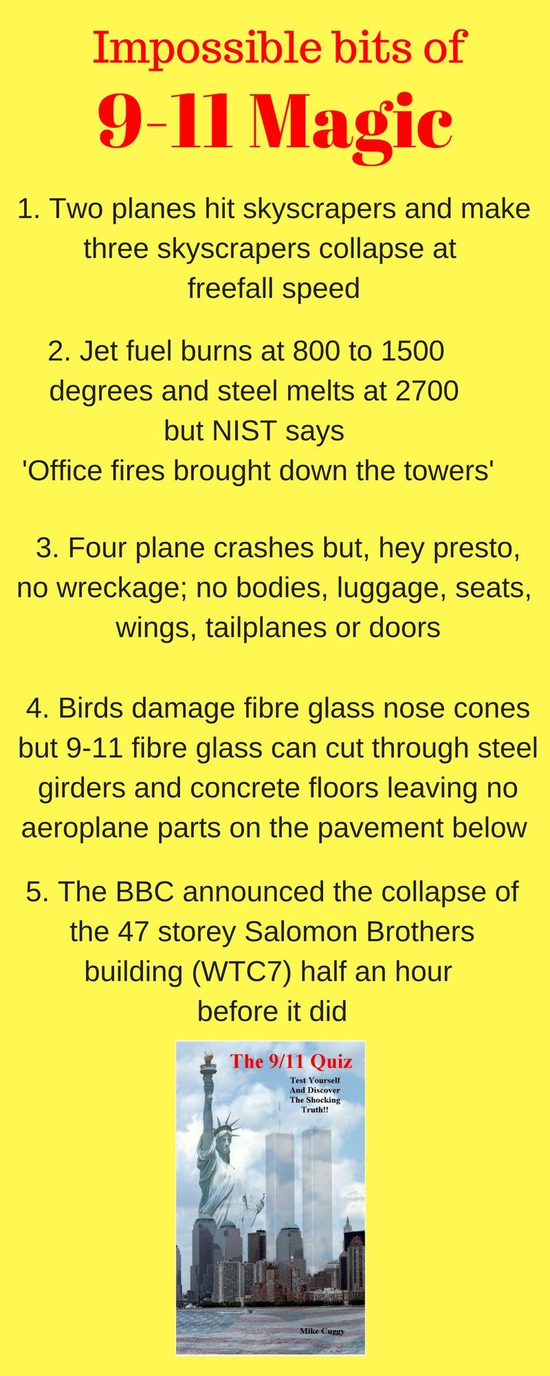 The 9/11 Quiz ebook by Mike Cuggy Ebook, Quiz, This or