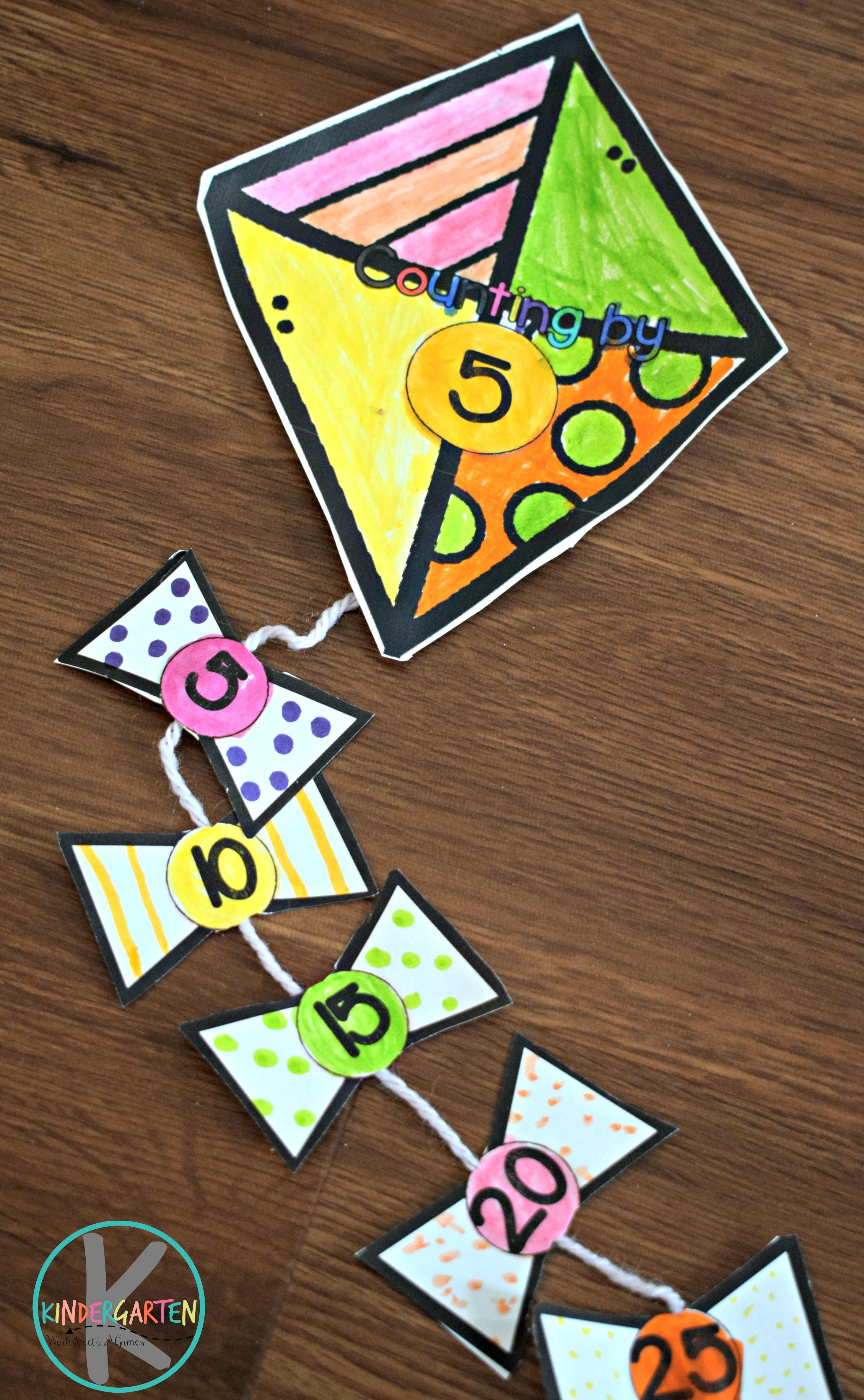 Free Printable April Math Craft Kindergarten Worksheets And Games Math Crafts Kindergarten Crafts April Math [ 4741 x 2925 Pixel ]