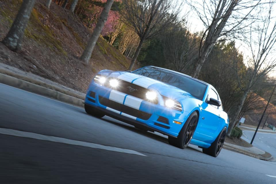 Crusin' Into The Sunset 🌙 in 2020 Mustang, 2014 ford
