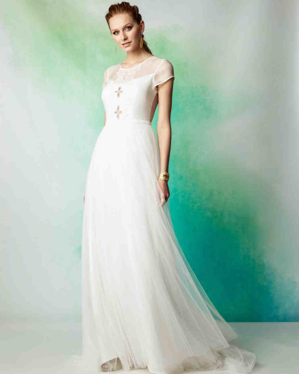 Rembo Styling Fall 2017 Wedding Dress Collection | Martha Stewart ...