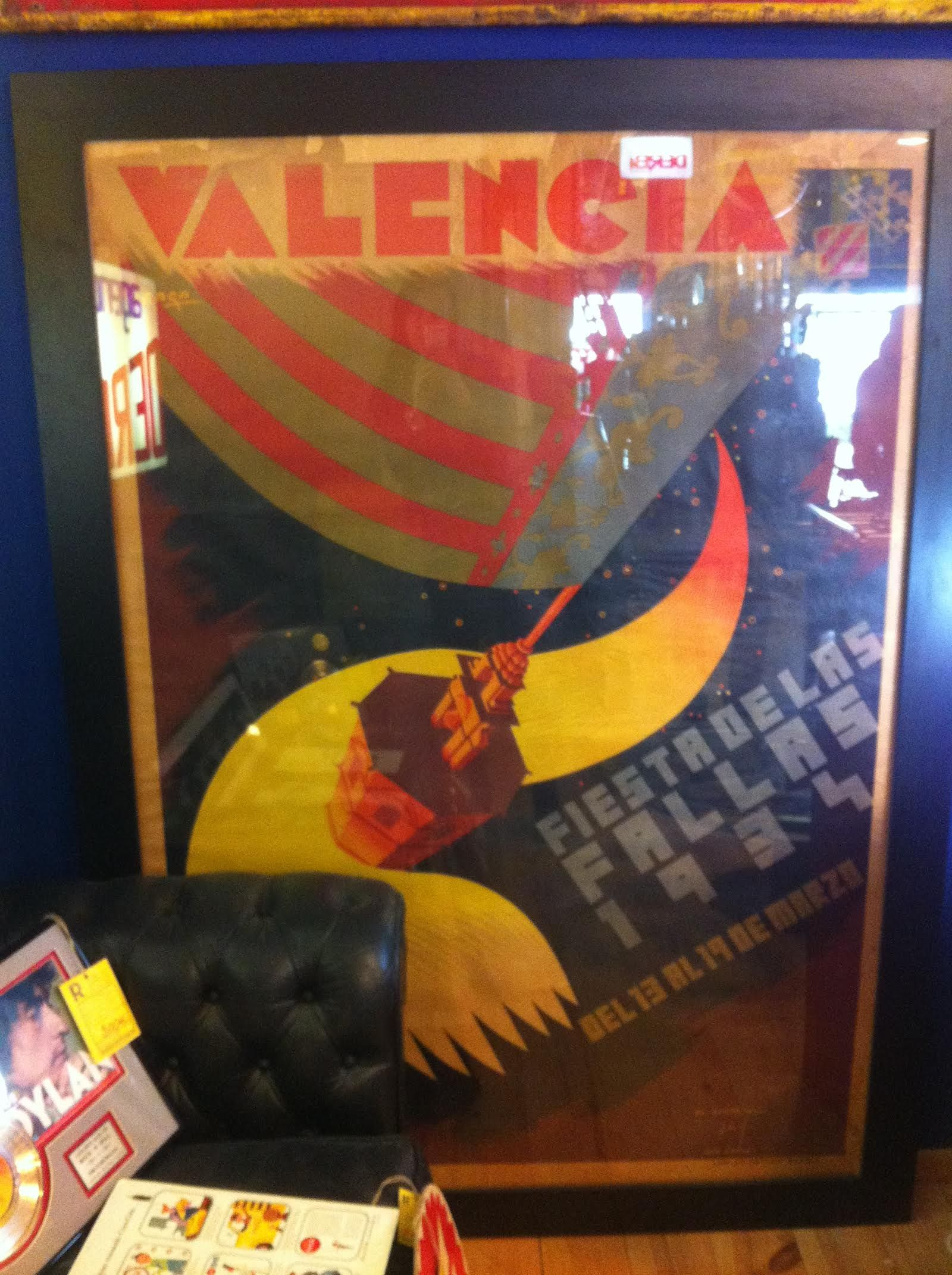 EL AUTÉNTICO CARTEL DE LAS #Fallas de de 1934 @VlcFallas