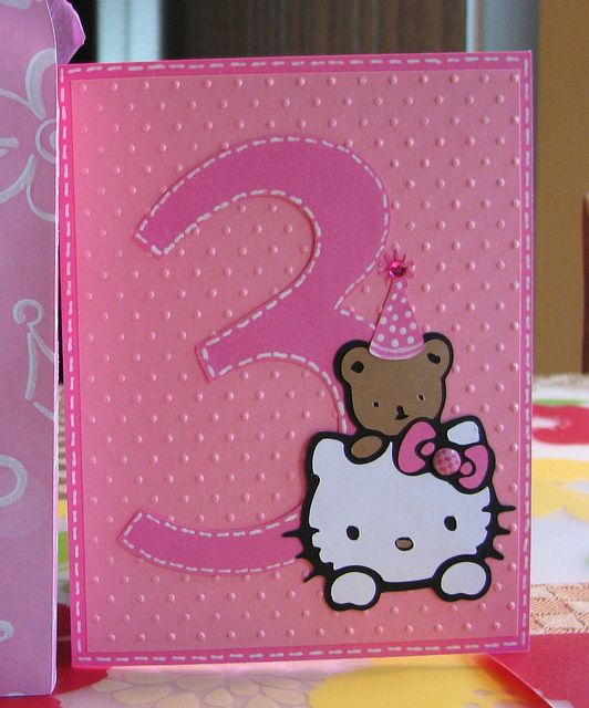 Cricut Birthday Card Cricut Birthday Cards Cricut And Hello Kitty
