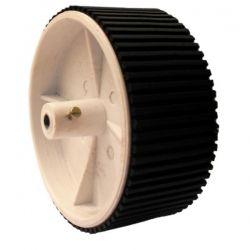 Robot Wheel, 100mm Dia x 40mm Wide