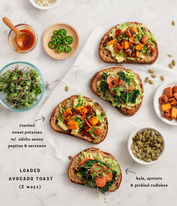 Loaded Sweet Potato Avocado Toast give you a new reason to eat sweet potatoes without the pie.