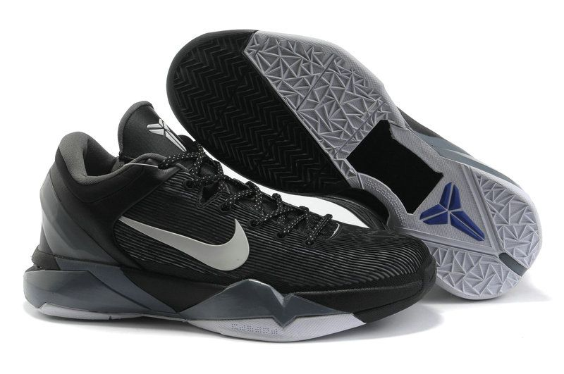 low priced 0d3ab 94c18 Kobe 7 All Black Cool Grey 488244 008