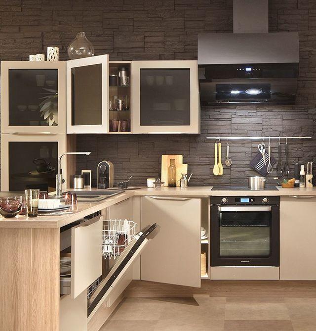 Petite Cuisine Astuces Gain De Place Conforama Cuisines Et - Petit meuble de cuisine conforama pour idees de deco de cuisine