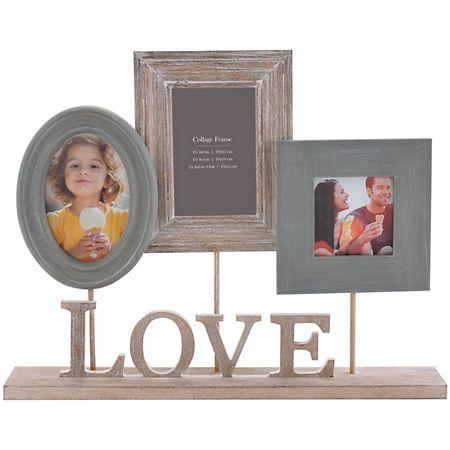 Love Heartfelt 3-Opening Pedestal Collage Frame   Kirklands   House ...