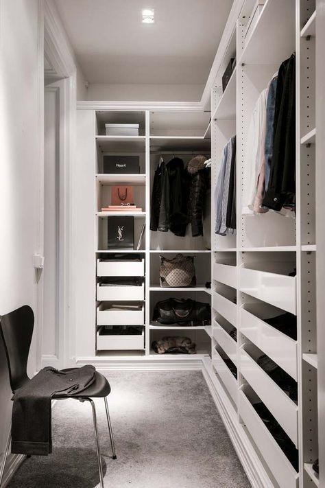 Photo of Small Walk-In Closet Ideas