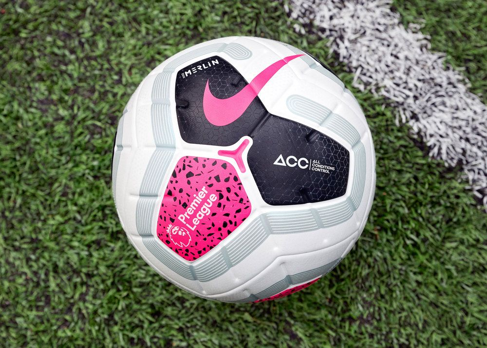 The Premier League Will Play With A Special Nike Merlin Football In 2019 2020 Premier League League Premier League Football